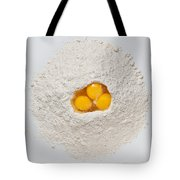 Flour And Eggs Tote Bag