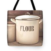 Flour Tin Tote Bag