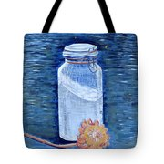 Flour Verses Flower Tote Bag