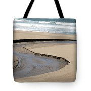 Flow - Scott Creek  Tote Bag