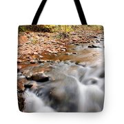 Flow In Sedona Tote Bag