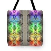 Flow - Stereogram Tote Bag
