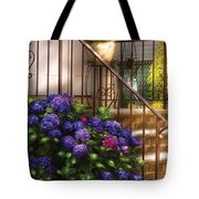 Flower - Hydrangea - Hydrangea And Geraniums  Tote Bag