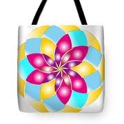 Flower 1317 - Abstract Art Print - Fantasy - Digital Art - Fine Art Print - Flower Print Tote Bag