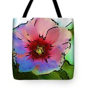 Flower 8-15-09 Tote Bag