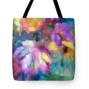 Flower 9350 Tote Bag