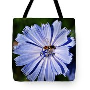 Flower And Bee 2 Tote Bag