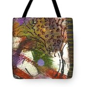 Flower And Leaves II Tote Bag