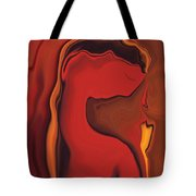 Flower And  Women Tote Bag