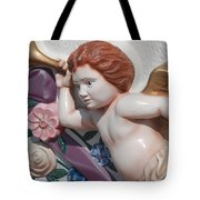 Flower Angel Tote Bag