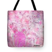 Flower Art The Scent Of Love Is In The Air Tote Bag