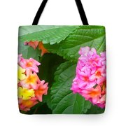 Flower Balls Tote Bag