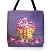 Flower Basket Tote Bag