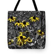 Flower Black Eyed Susan Tote Bag