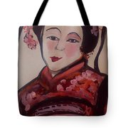 Flower Blossom Was Her Name  Tote Bag