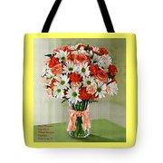 Flower Bouquet Creations Catus 1 No. 1 Tote Bag