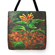 Flower Branch Tote Bag