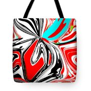 Flower Burst Of Color Tote Bag