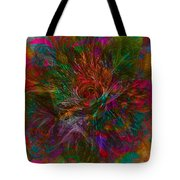 Flower Candy Tote Bag