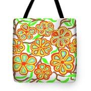 Flower Carnival Tote Bag