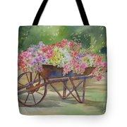 Flower Cart Tote Bag