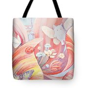 Flower City Tote Bag