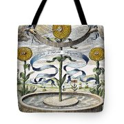 Flower Clock, 1643 Tote Bag