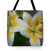 Flower Close Up 5 Tote Bag