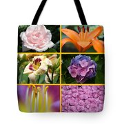 Flower Collage 1 Tote Bag