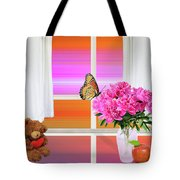Flower Color Tote Bag
