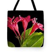 Flower Composite Trio Horizontal Tote Bag