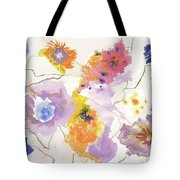 Flower Connection Tote Bag
