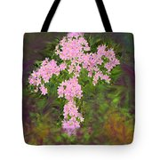 Flower Cross Fancy Tote Bag