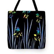 Flower Dance Tote Bag