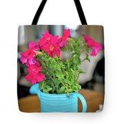 Flower Decoration Tote Bag