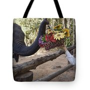 Flower Delivery By Trunk Tote Bag