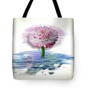 Flower Digital Art Tote Bag
