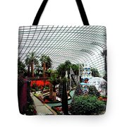 Flower Dome 3 Tote Bag