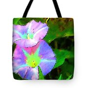 Flower Drawing Tote Bag