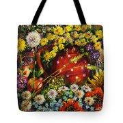 Flower Extravaganza Tote Bag