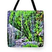 Flower Falls Tote Bag