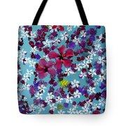 Flower Fantasy Guatemala Tote Bag
