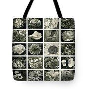 Flower Favorites Bw Tote Bag