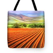 Flower Field Near Los Osos Tote Bag