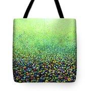 Flower Field Riot Tote Bag