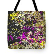 Flower Flood Tote Bag by Eikoni Images