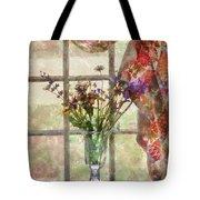 Flower - Flower - A Vase Of Flowers  Tote Bag