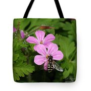 Flower Fly On Stinky Bob Tote Bag