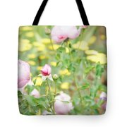 Flower Garden Bouquet Tote Bag