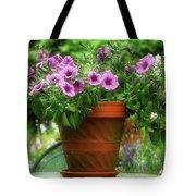 Flower Garden Pot Tote Bag